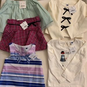 Little girls Janie and Jack Lot NWT